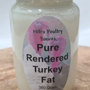 Pure Rendered Turkey Fat
